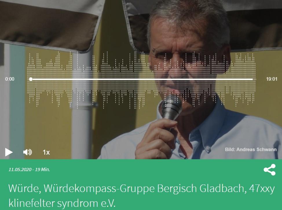 """Interview Bergische Welle """"Die Würdekompass-Gruppe Bergisch-Gladbach stellt sich vor"""
