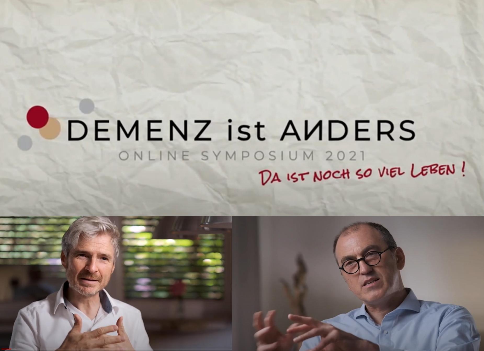 """Würde und Demenz - Ein Beitrag aus dem Symposium """"Demenz ist anders"""" - Michael Hagedorn im Gespräch mit Michael Beilmann"""