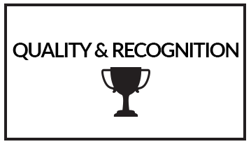 quality and recognition button