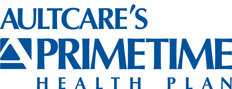 AultCare's PrimeTime Health Plan logo to click and go back to the homepage
