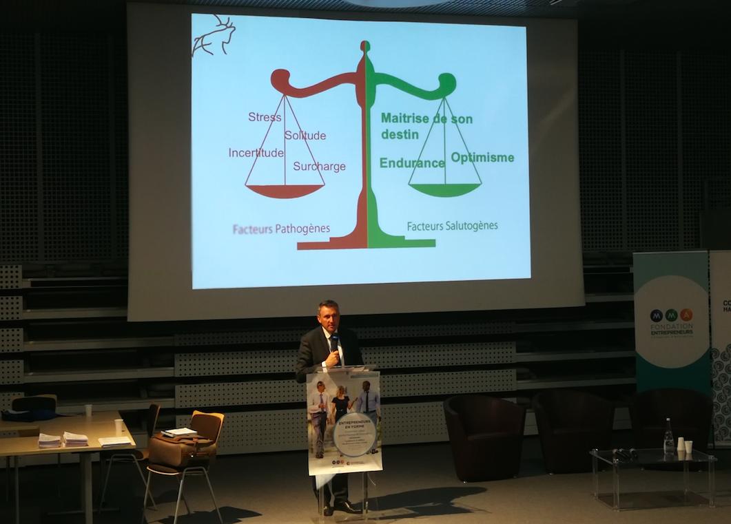 Santé dirigeants entreprise planning Olivier Torrès