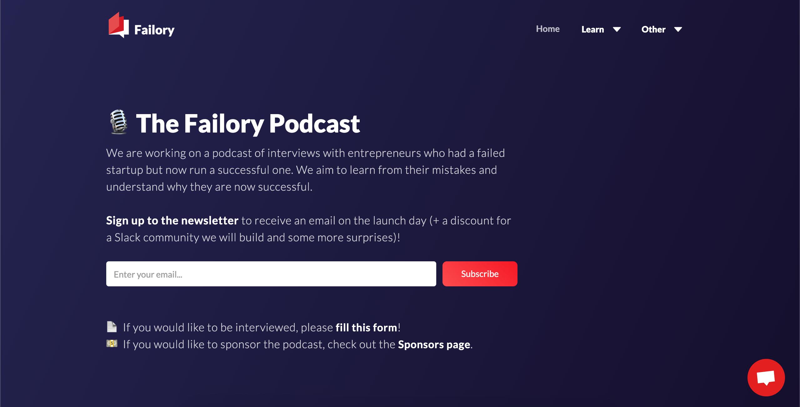 FailoryC Podcast