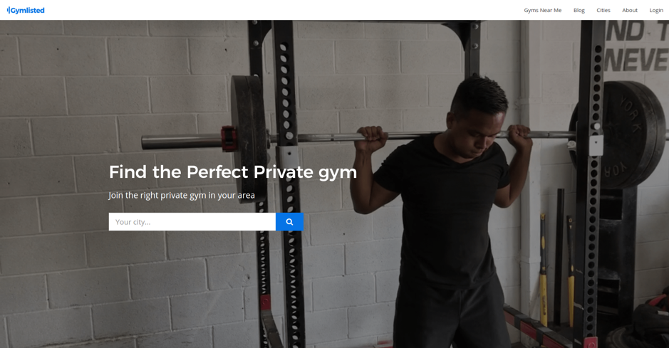 Gymlysted Website