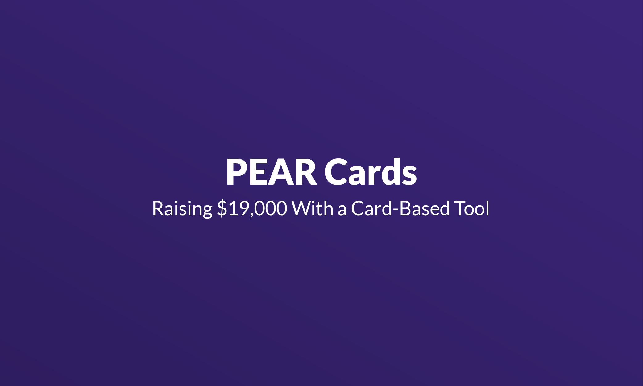 PEAR Cards Mistakes