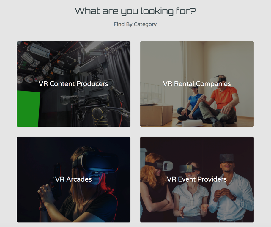 ExploreVR Website