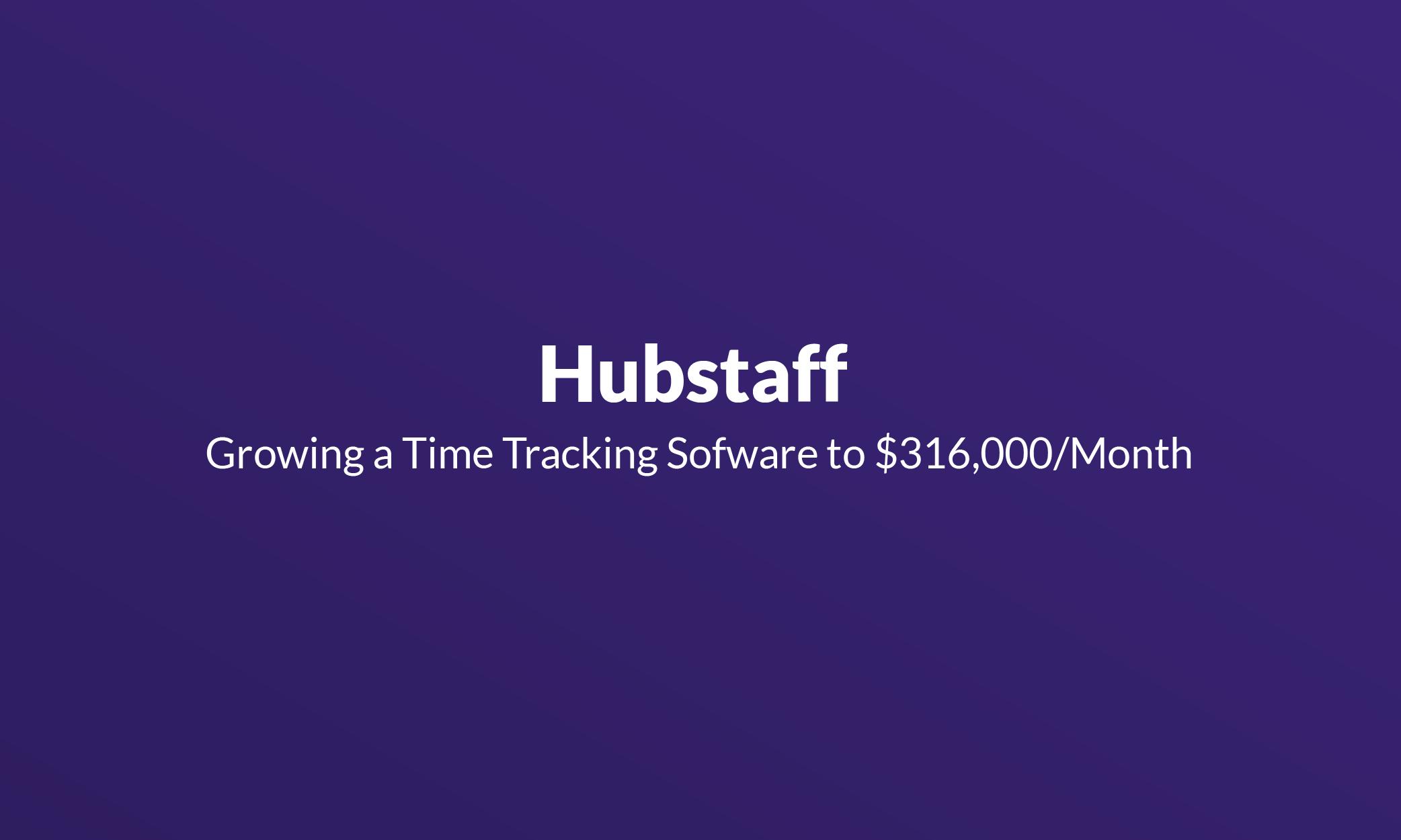 Hubstaff - Mistakes