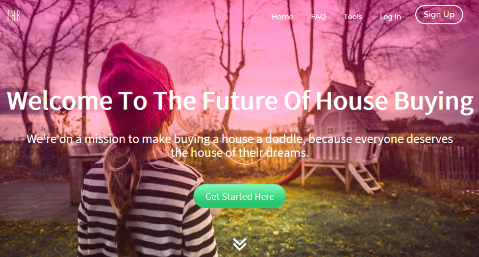 Fantastic House Buyers Landing Page