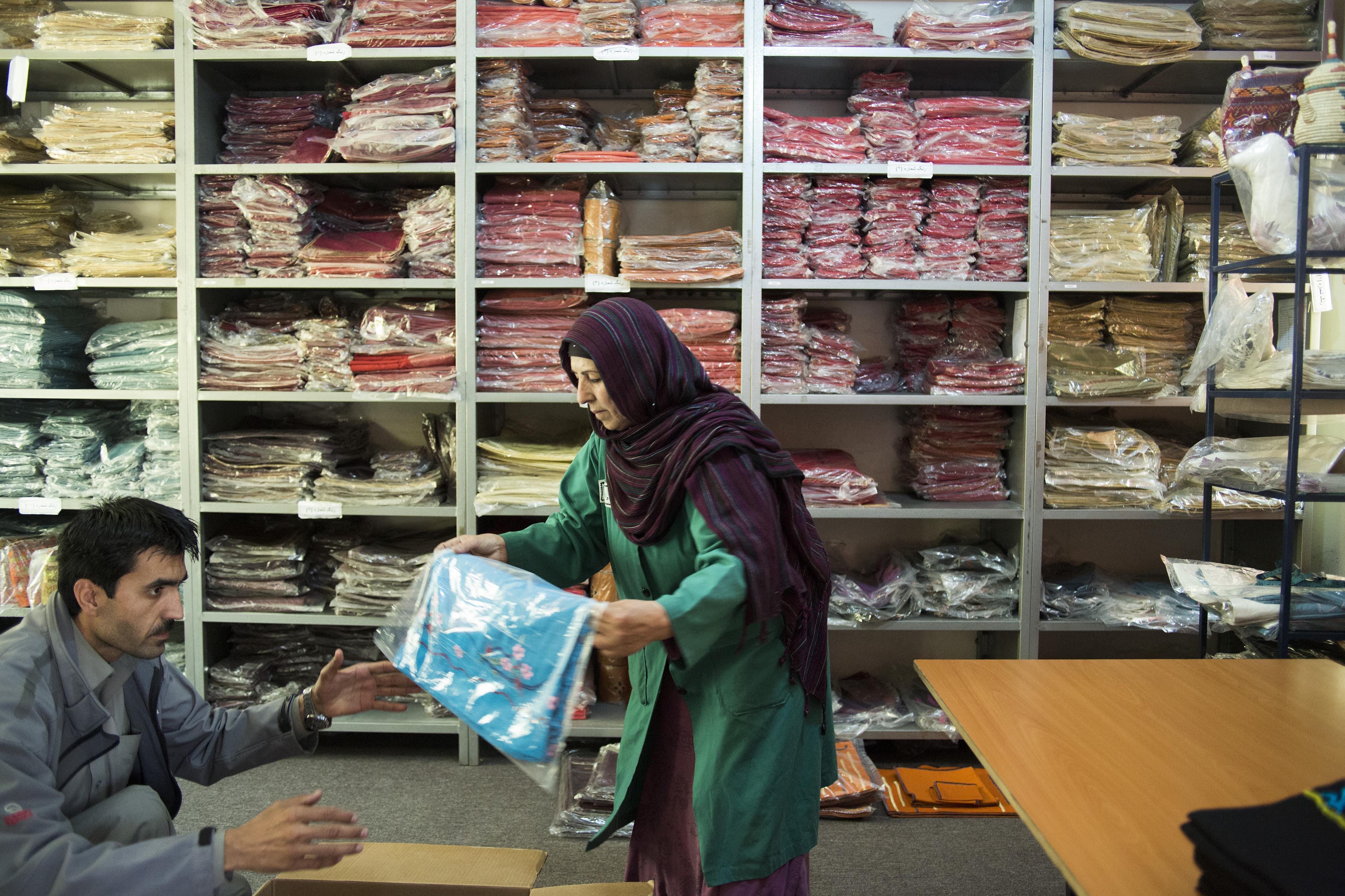 Combat Flip Flops Afghan Factory Workers