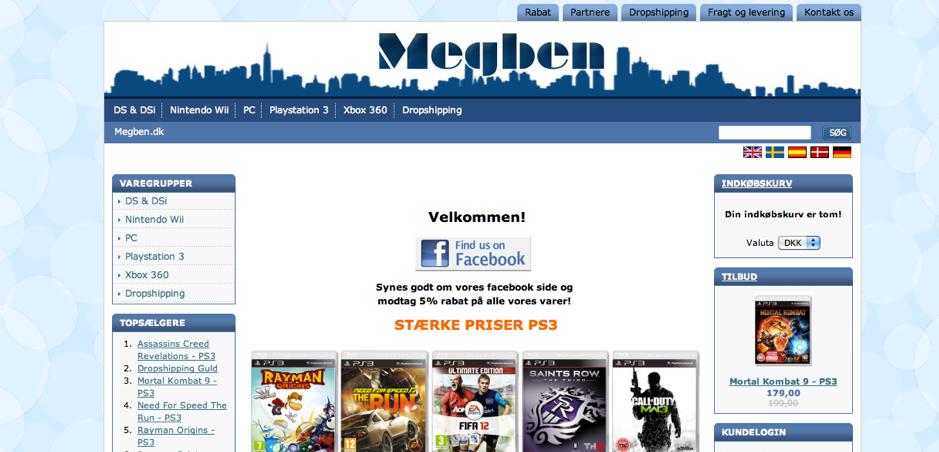Megben Website