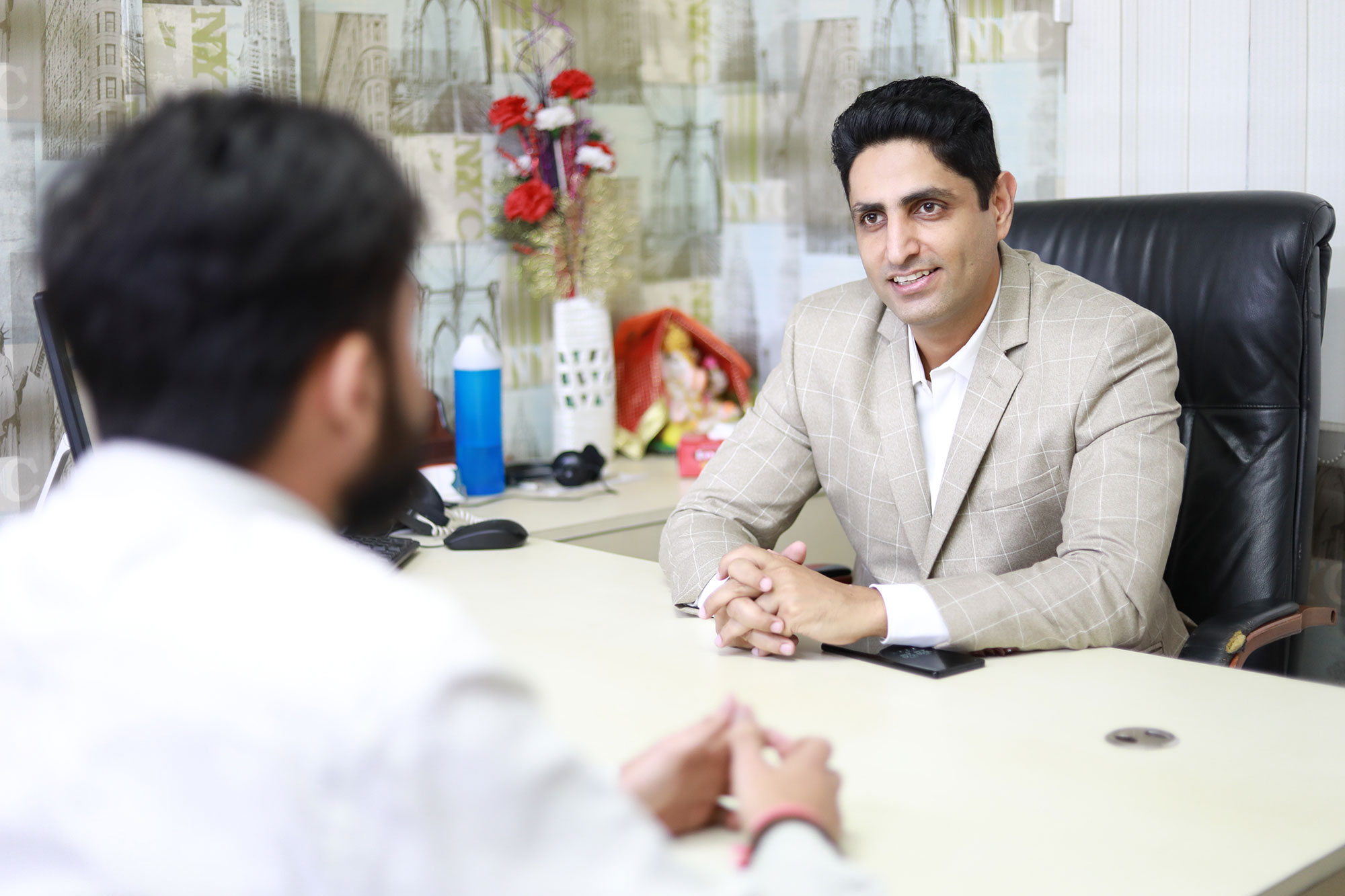 Manoj Tulsani Meeting