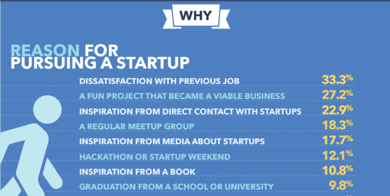 Reason for pursuing a startup