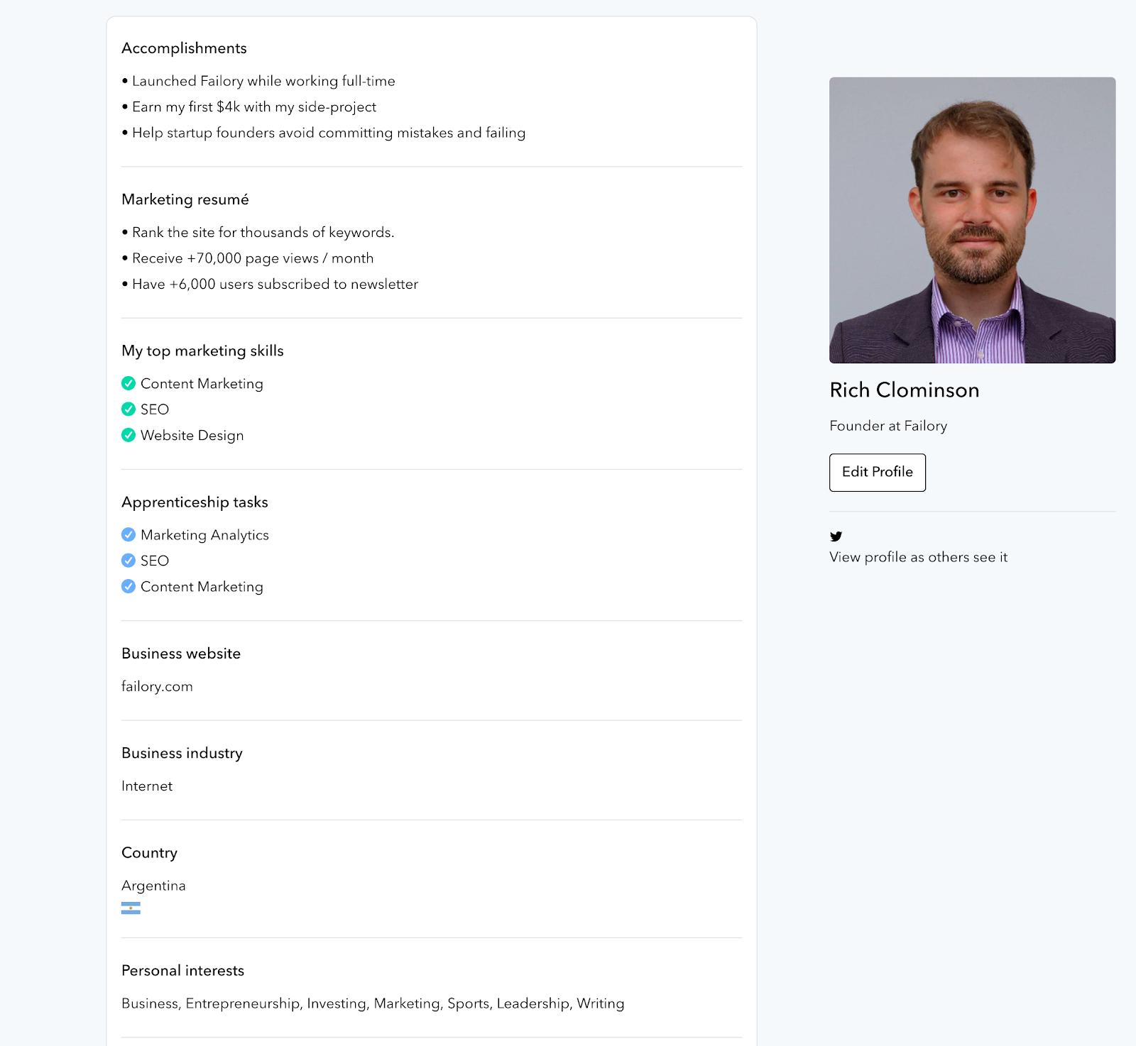 GenM Profile