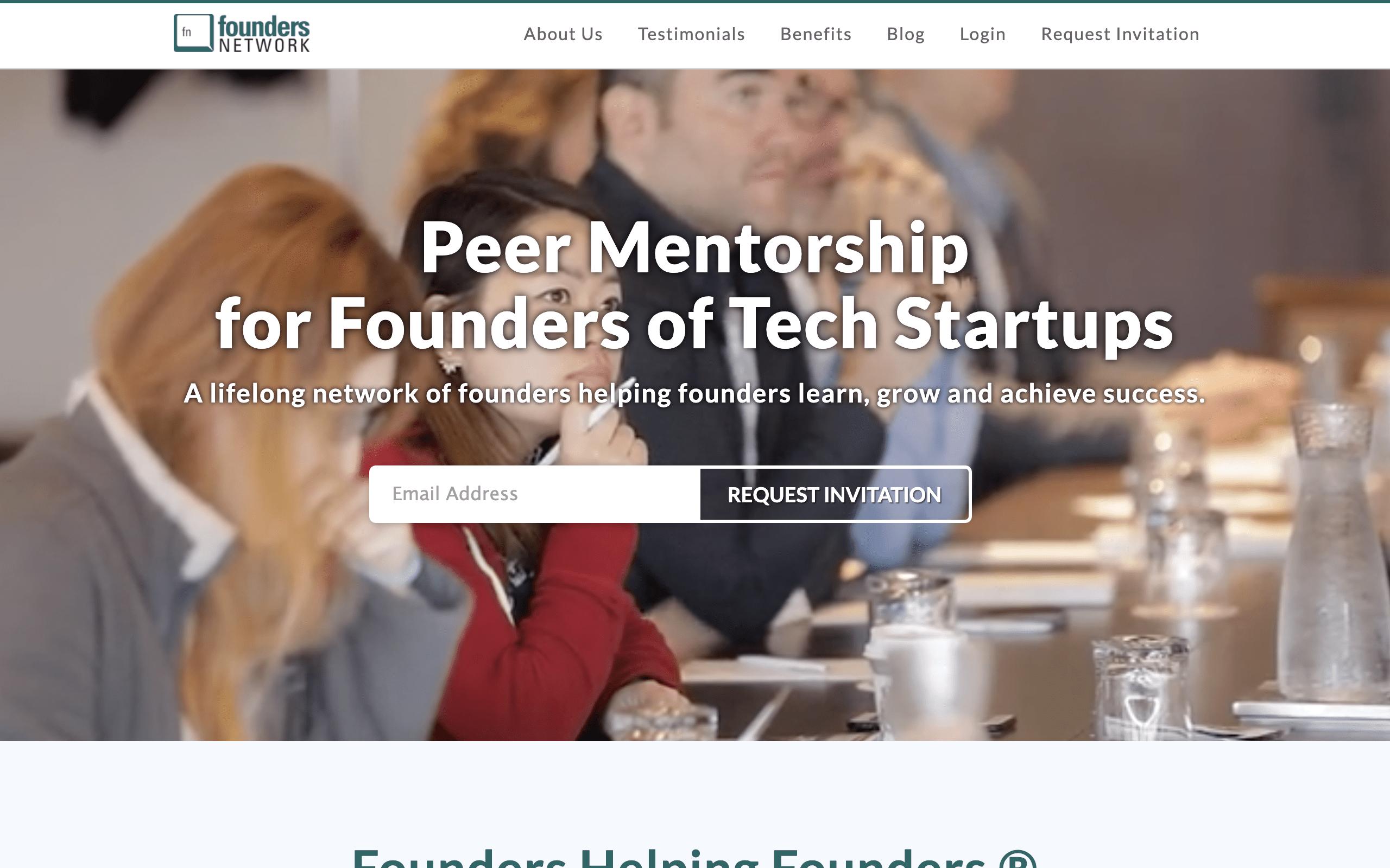 Startup Advisors - FoundersNetworks