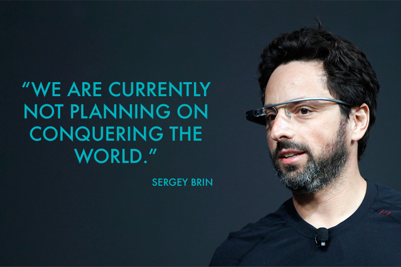Quote from Sergey Brin