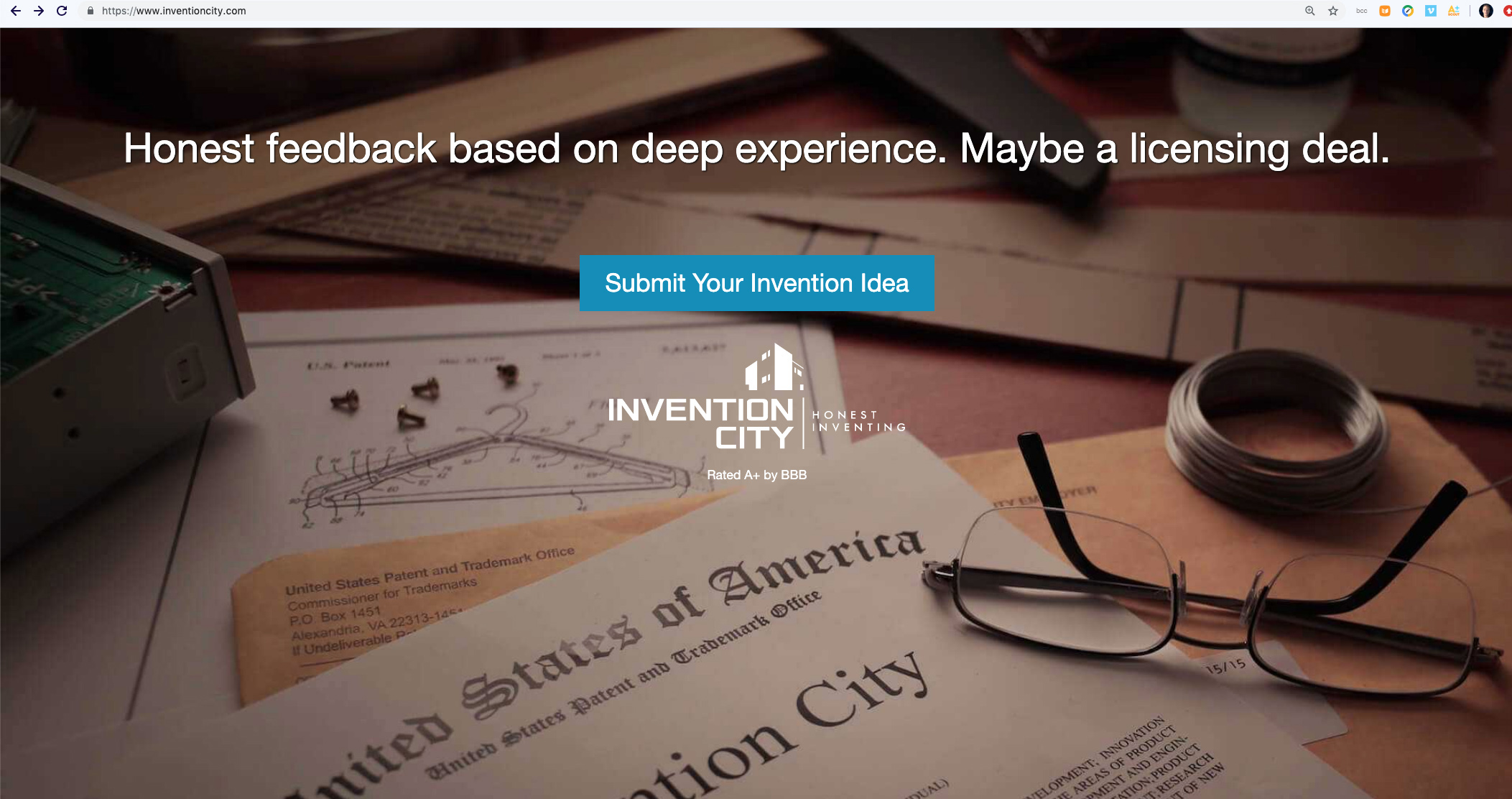 Invention City Website