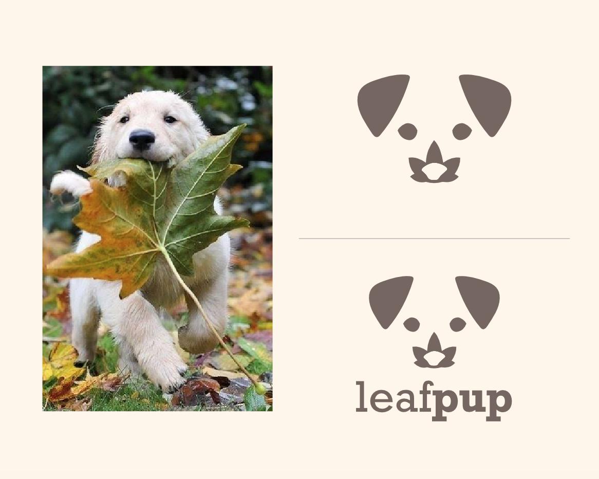 Leafpup's Logo