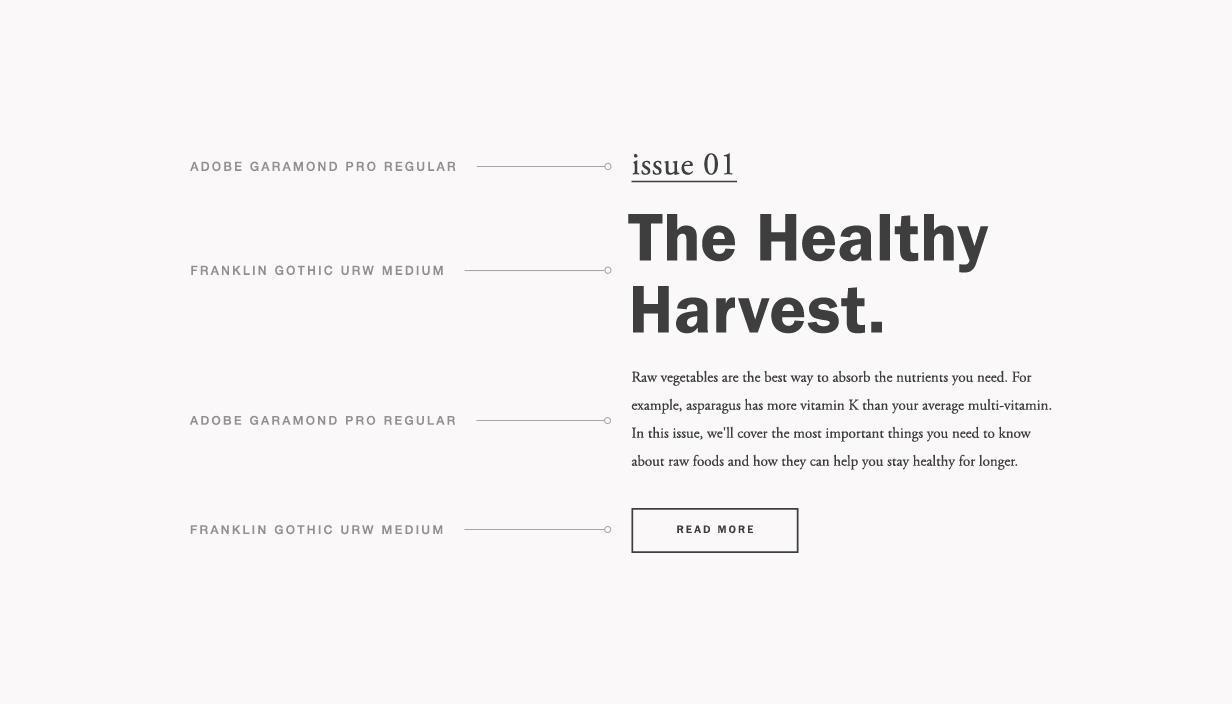 Brand's Typography