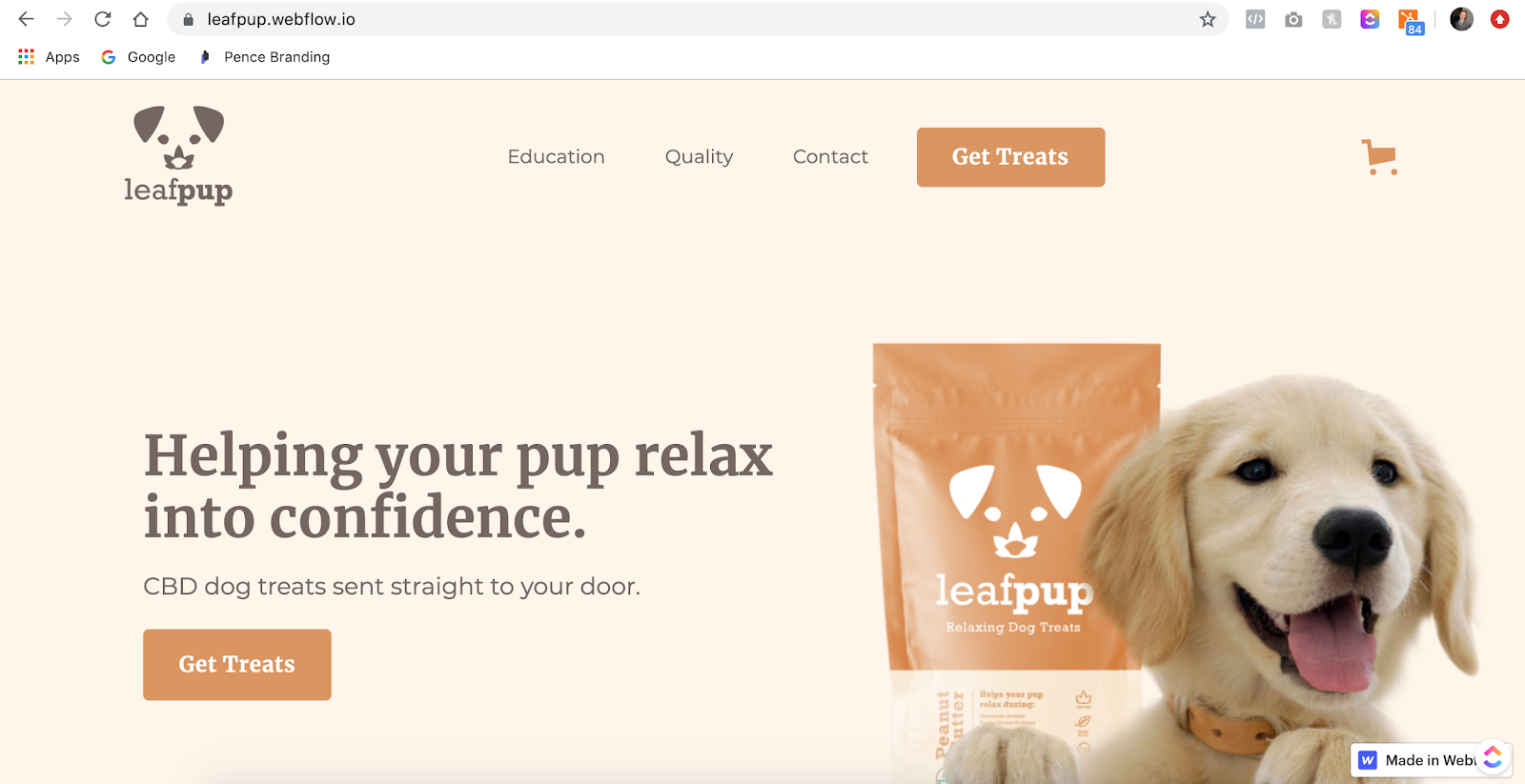 Leafpup's Website