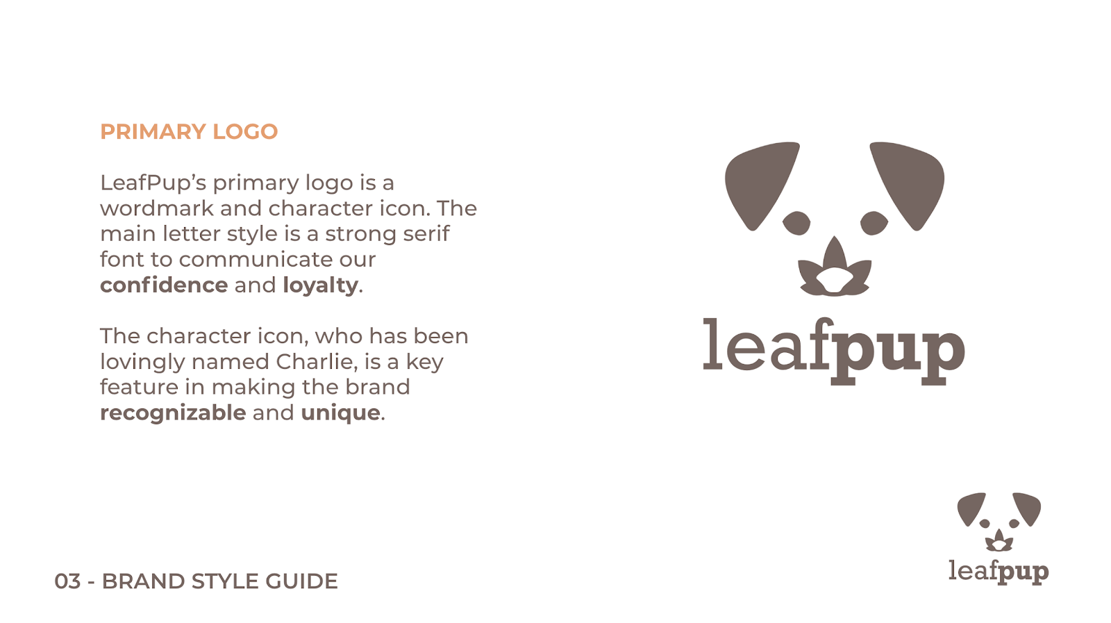 Leafpup's Primary Logo