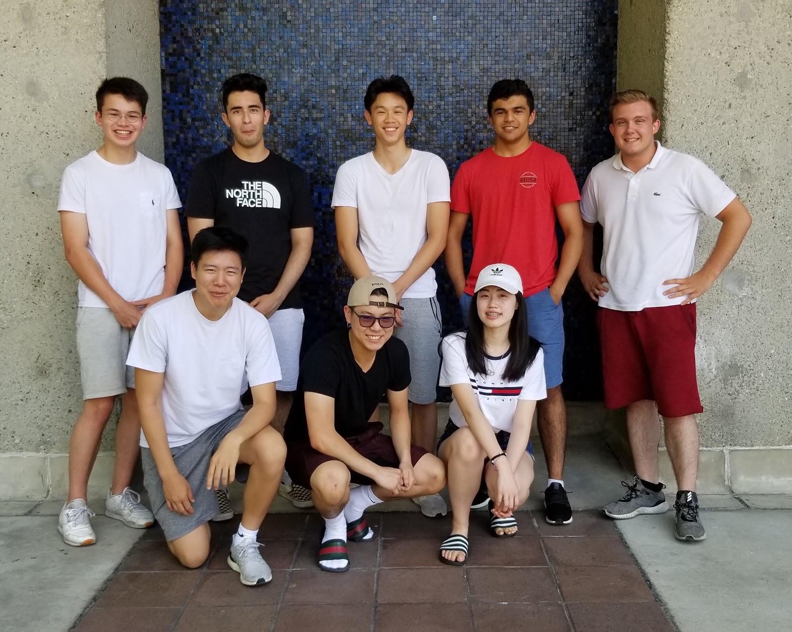 Community Coders students