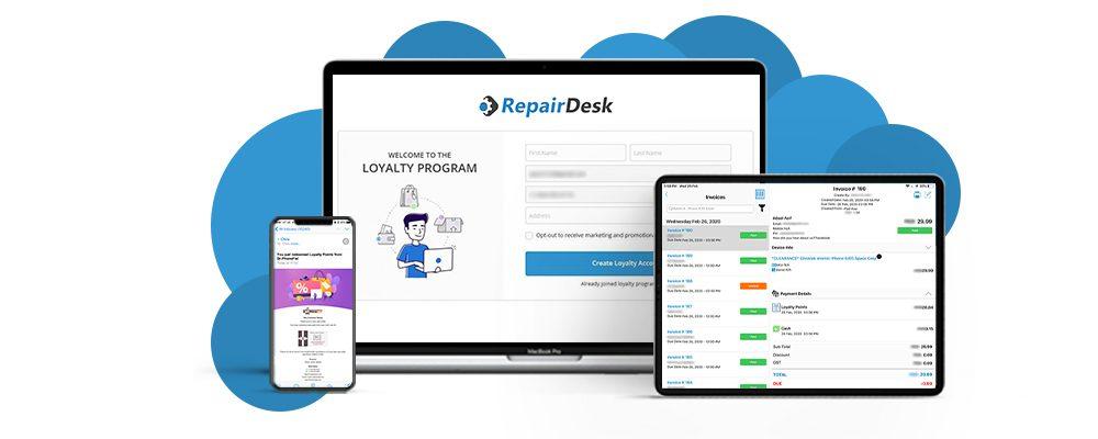 RepairDesk on different platforms