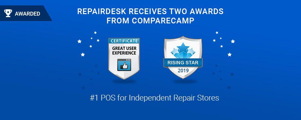 RepairDesk awarded