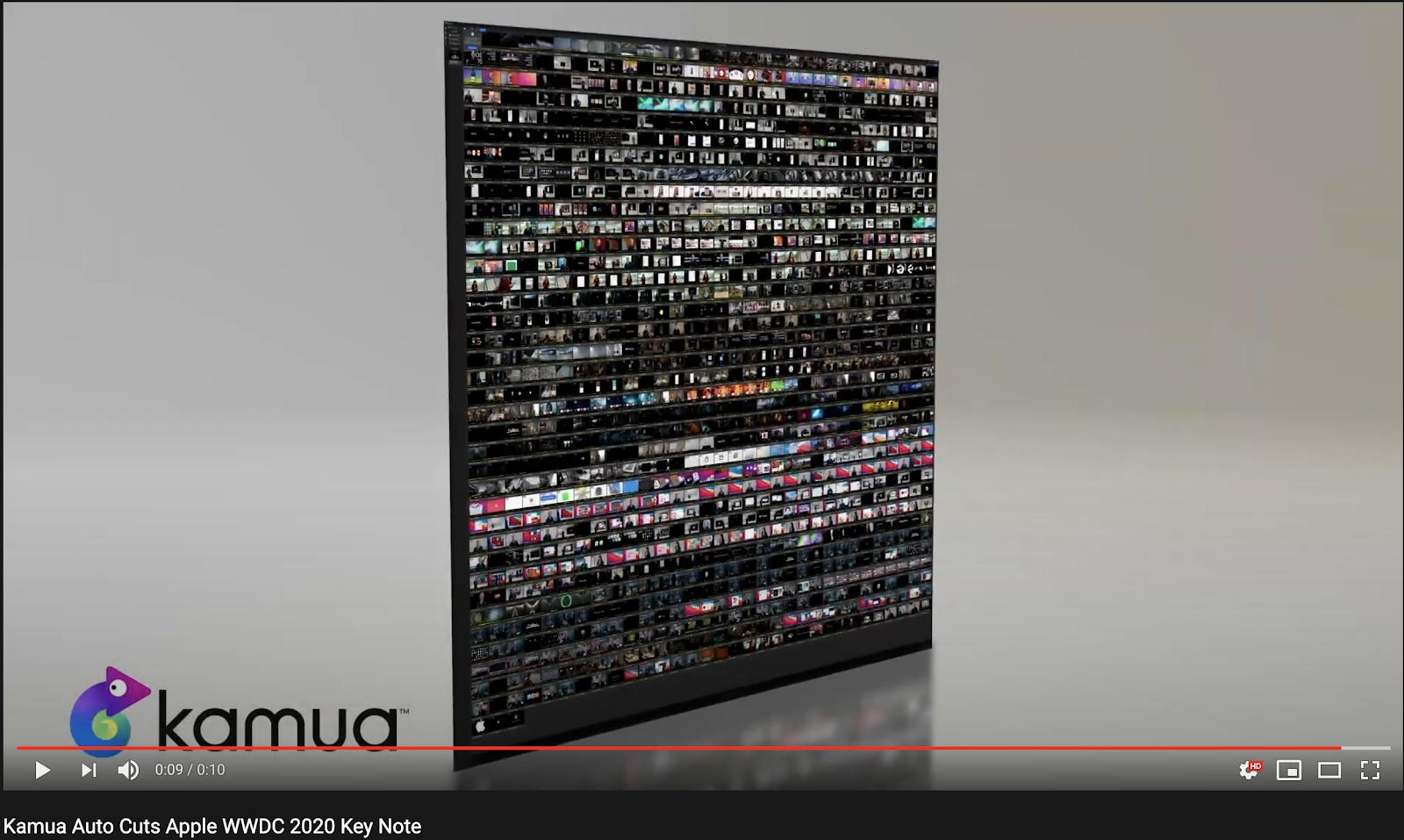 Kamua's Apple video