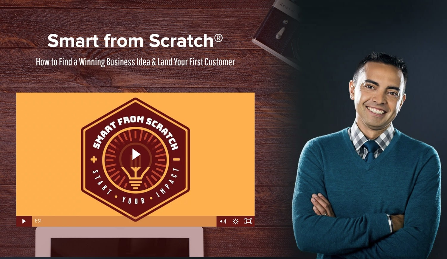 Entrepreneurs courses #31: Smart From Scratch