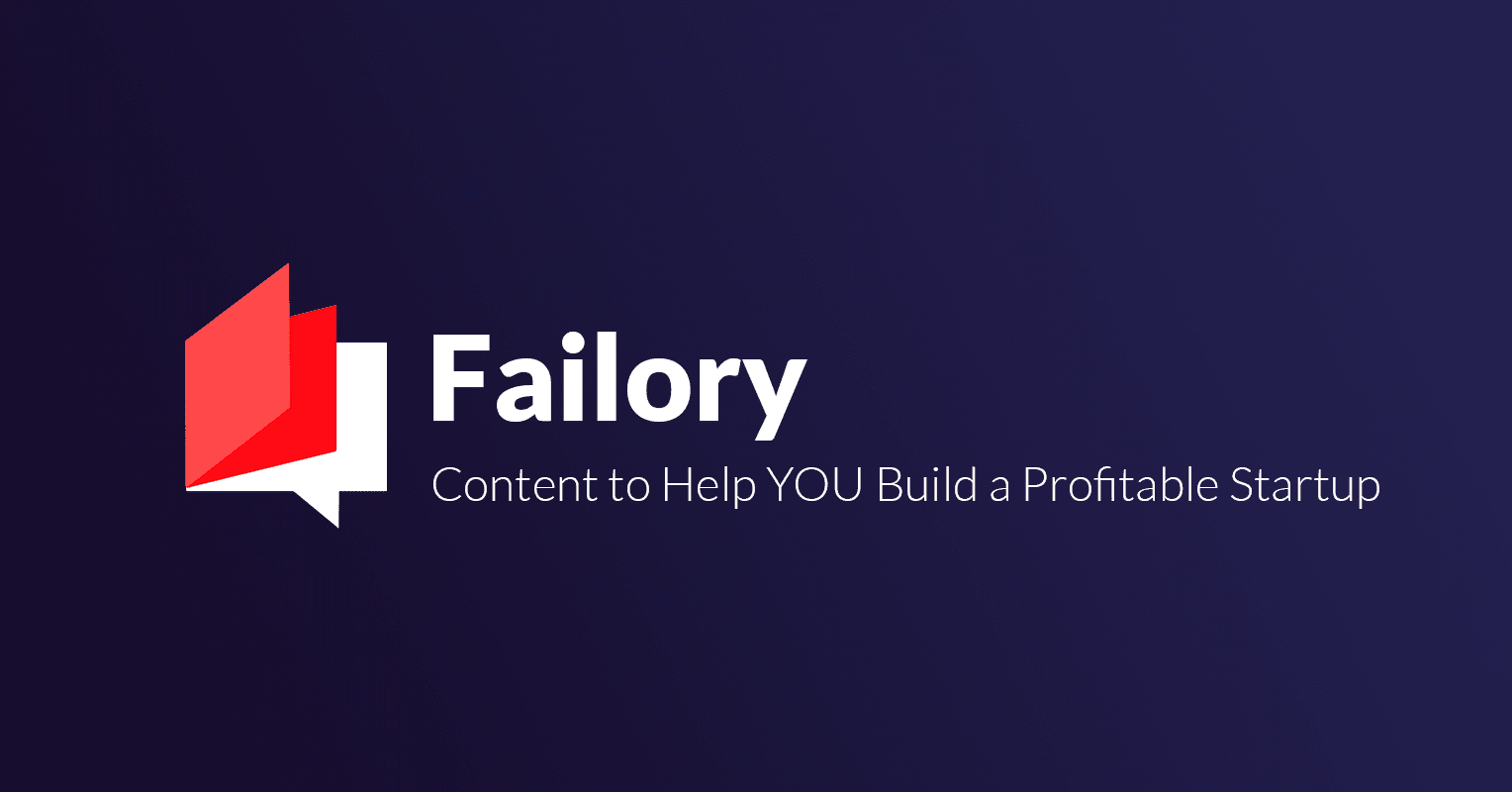 Failory's newsletter