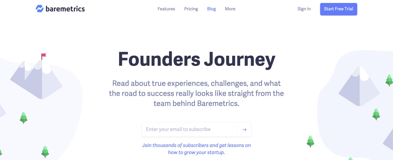 Entrepreneurship blogs#8: Baremetrics' blog
