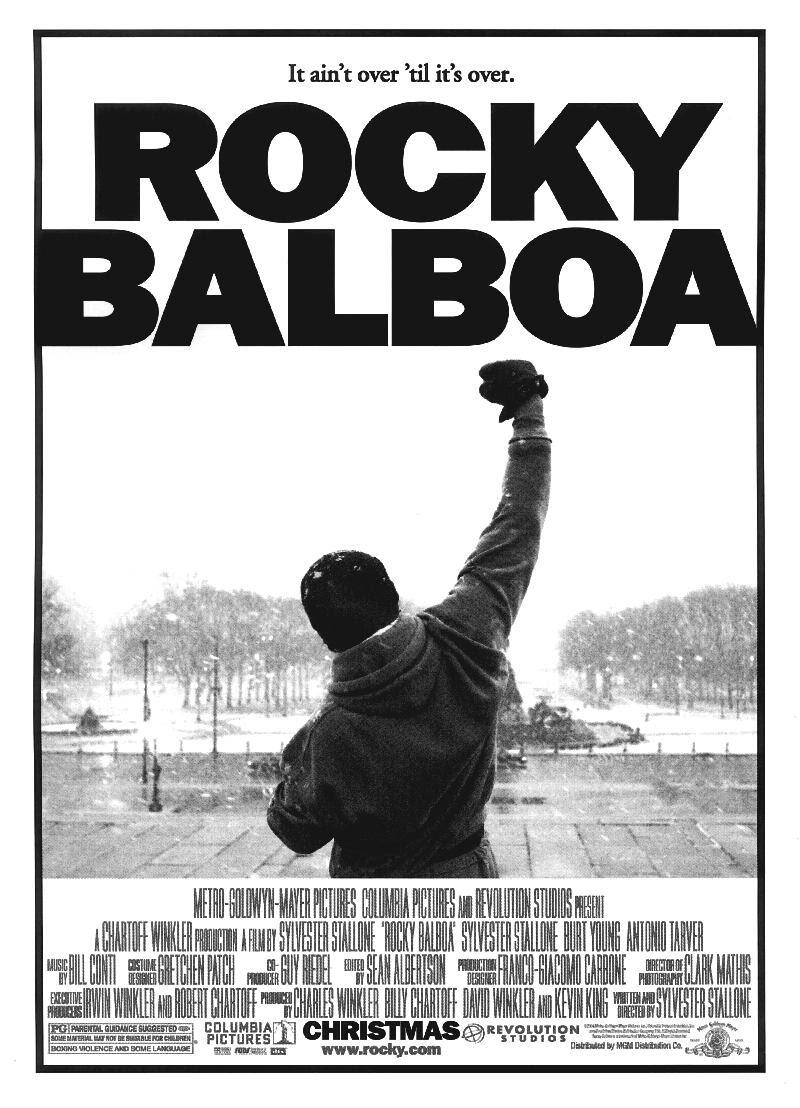 Best entrepreneur movies #36: Rocky
