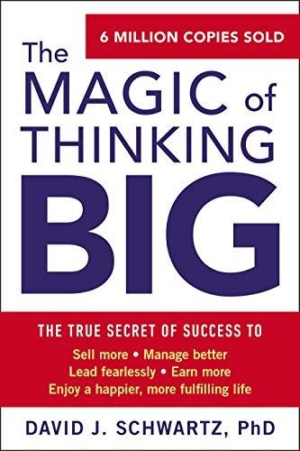 Best business audiobooks #14: The Magic of Thinking Big