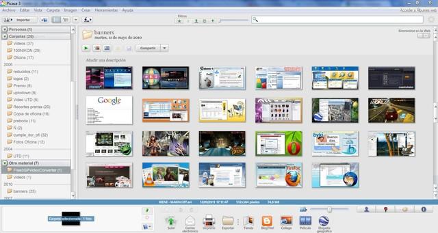 Picasa's software