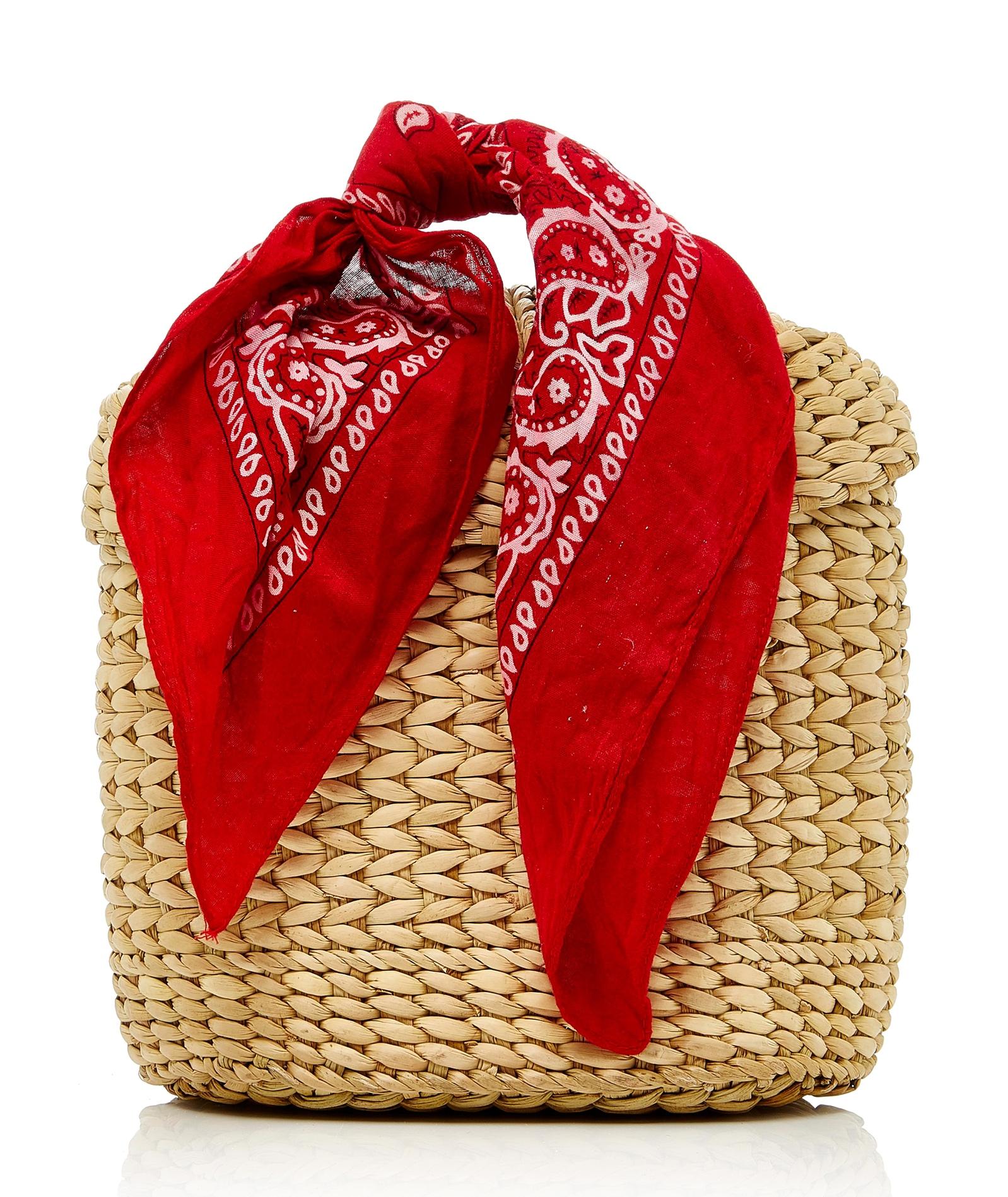 We Are Poolside Ashleigh Bag red bandana