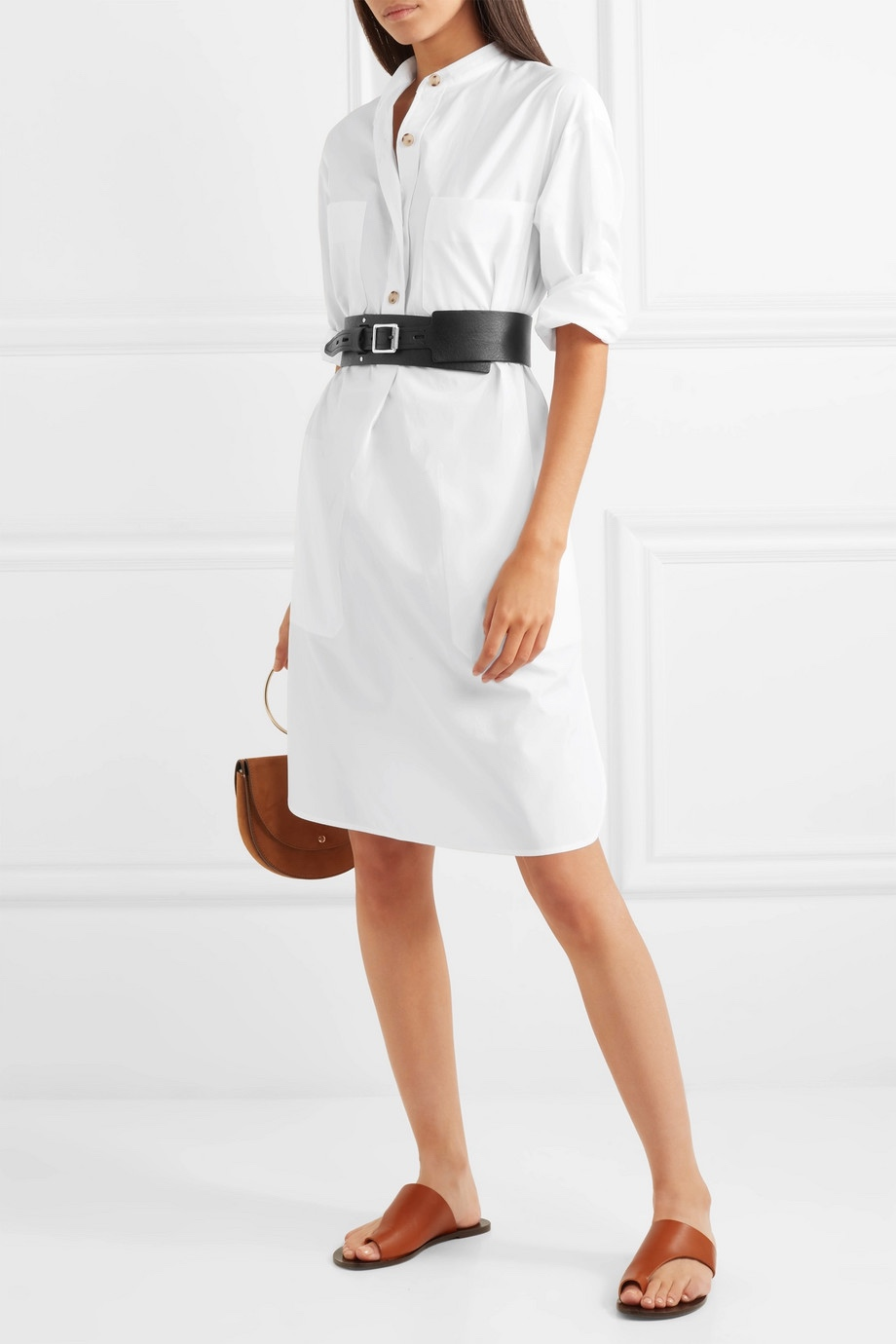Vince Cotton Poplin Shirt dress