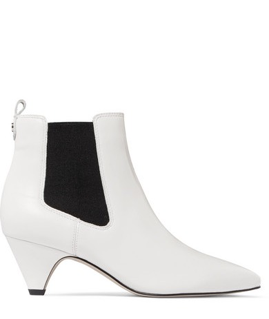 Harper Flat Ankle Boot In Smooth Calfskin With Laces | Chloé LT