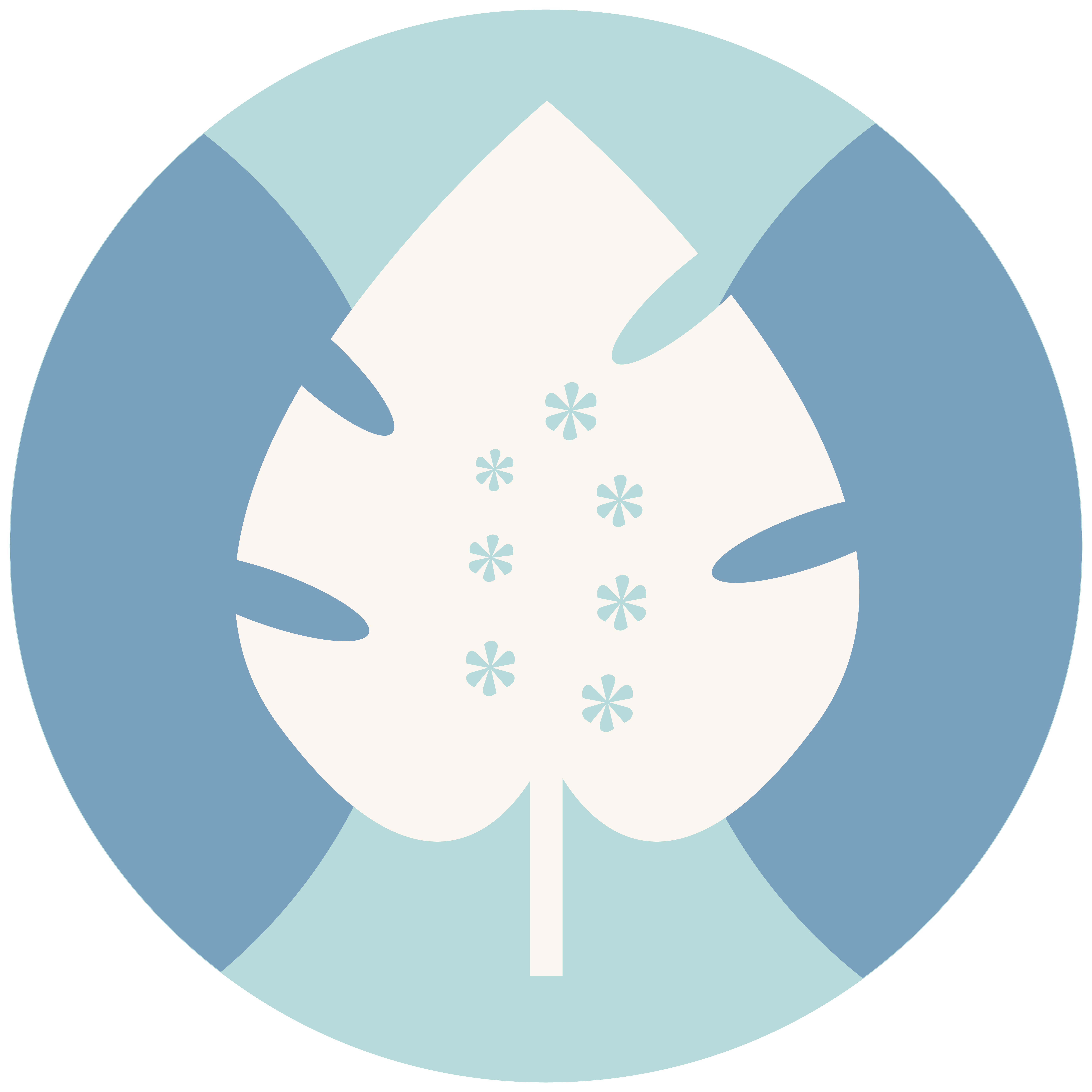 Born-Social-Leaf-Icon