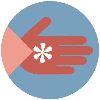 Born-Social-Hand-Icon