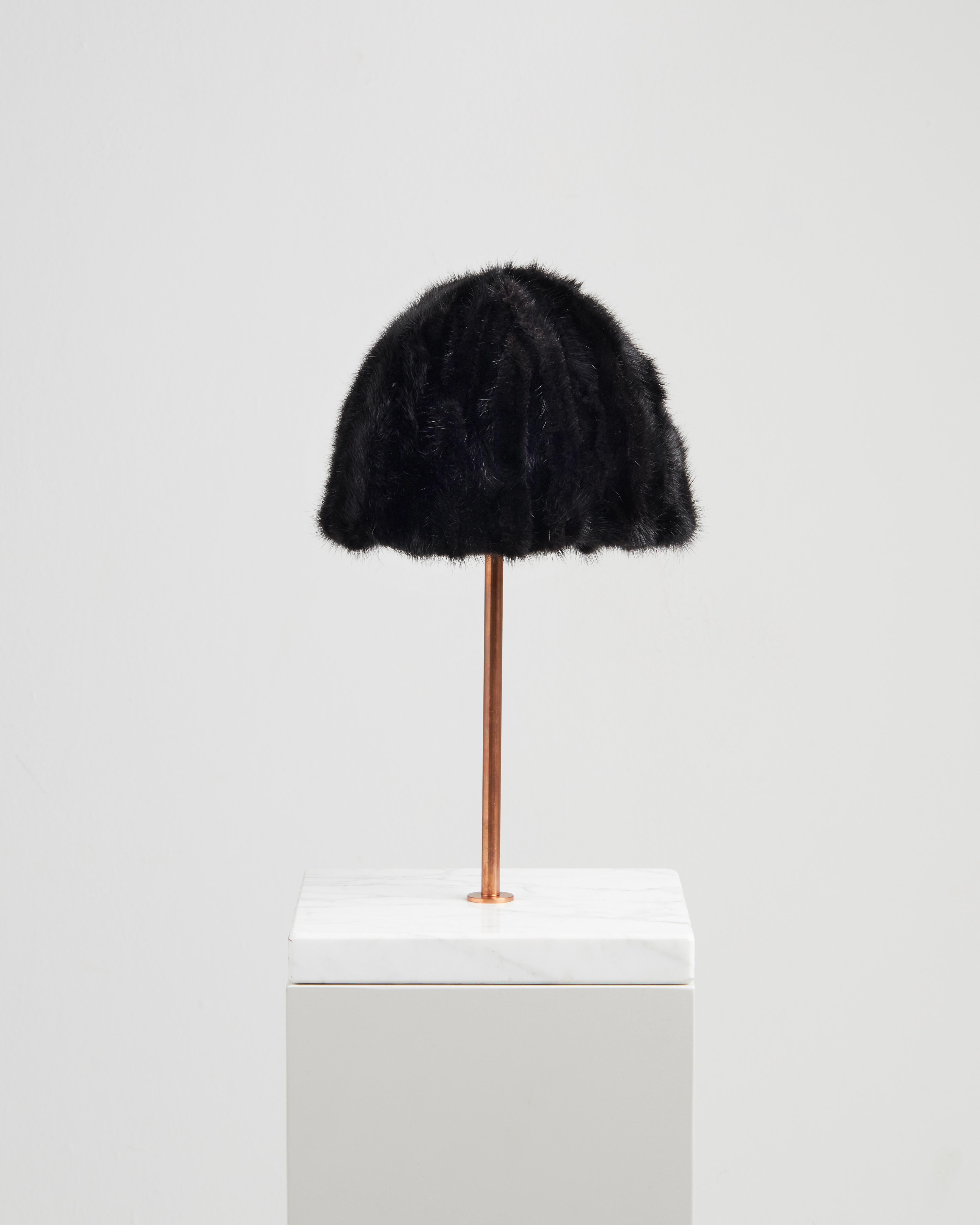 SIRIA HAT BLACK MINK