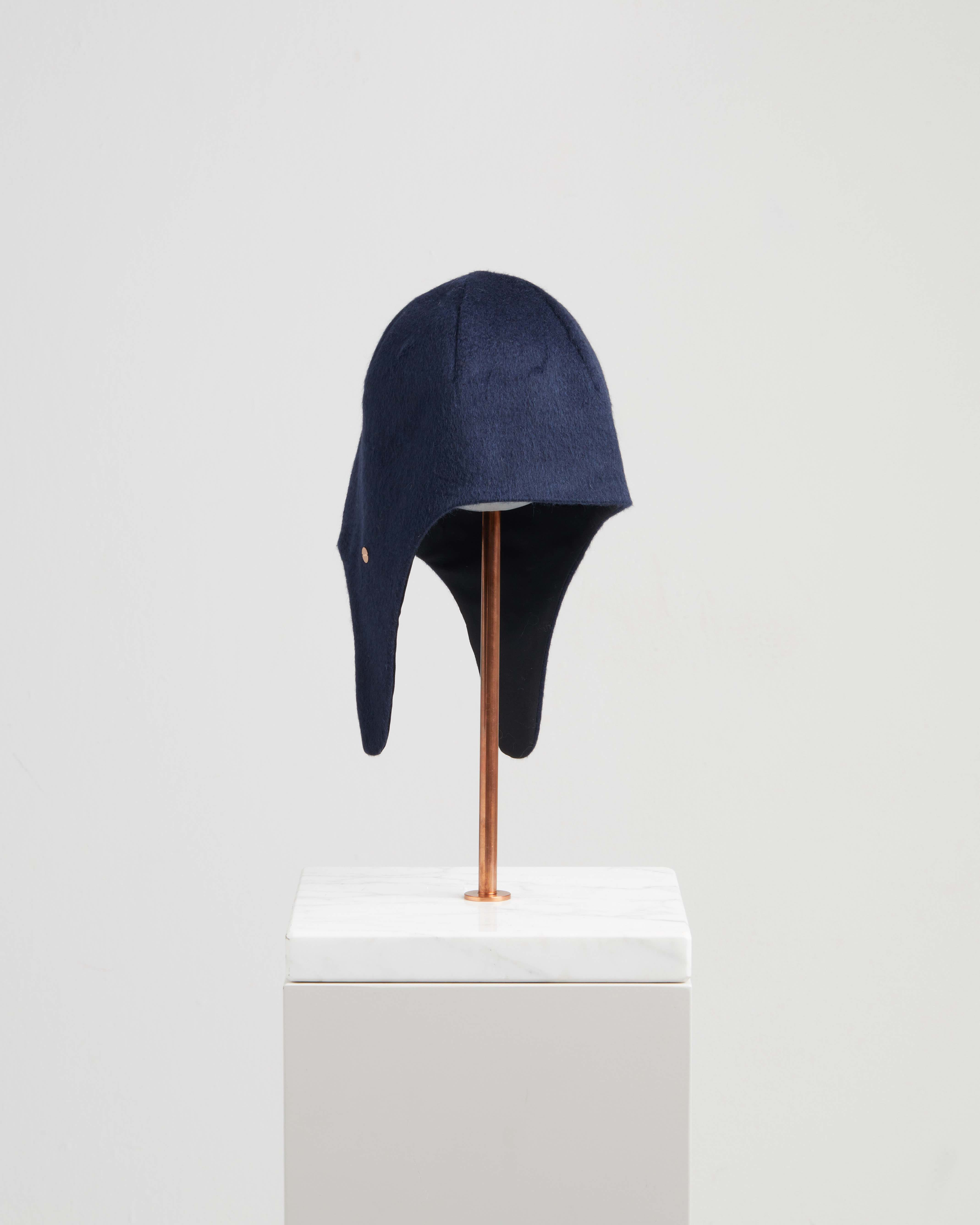 GIOVANNA HAT REFLECTIVE MIDNIGHT BLUE