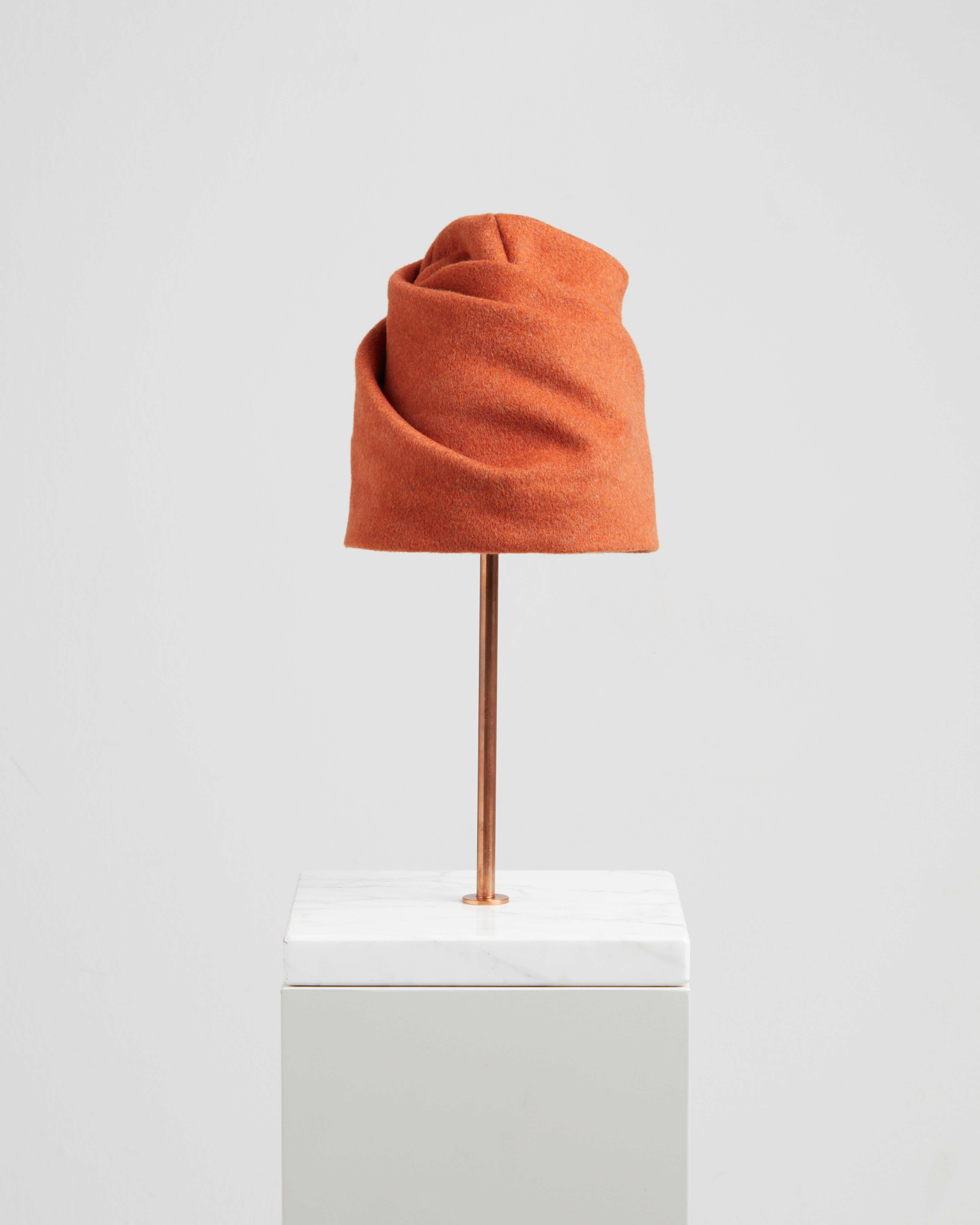 LIVIA HAT LIGHT ORANGE
