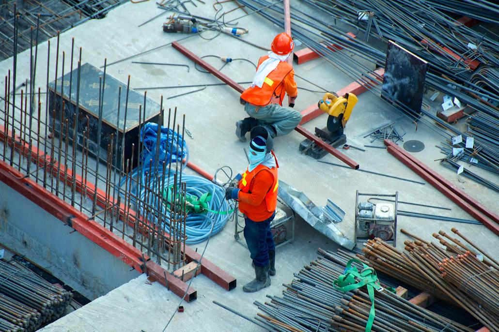 Build-to-suit data center construction