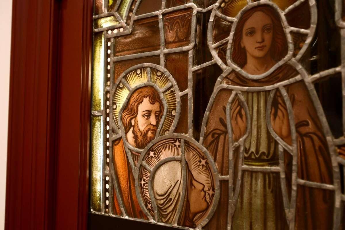 Inside the Malta House chapel