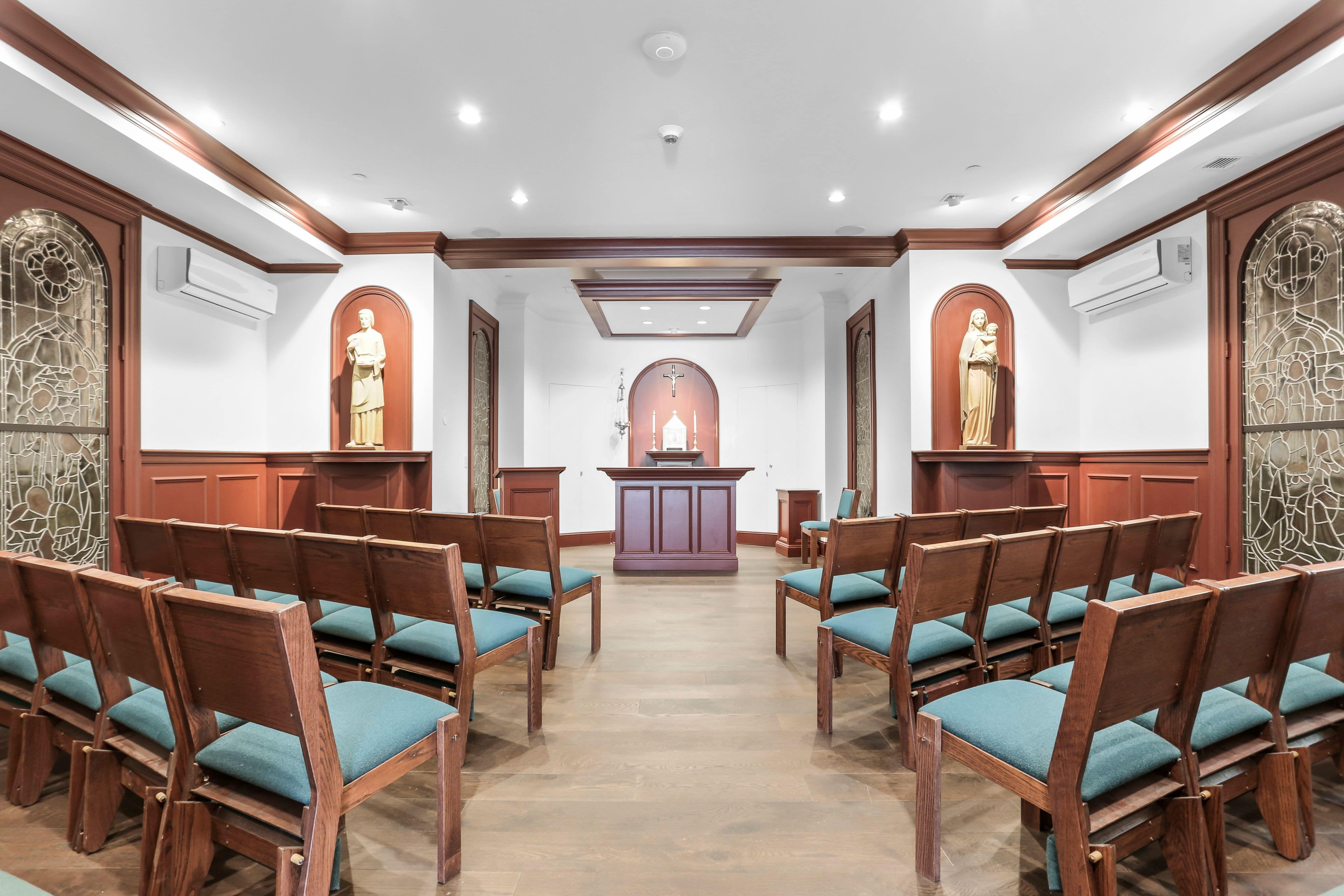 Chapel Facing Altar