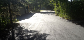 asphalt paving finished product