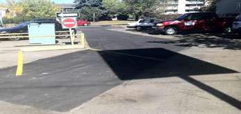 parking lot paving and asphalt repair
