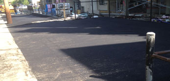 commercial asphalt paving completed edmonton