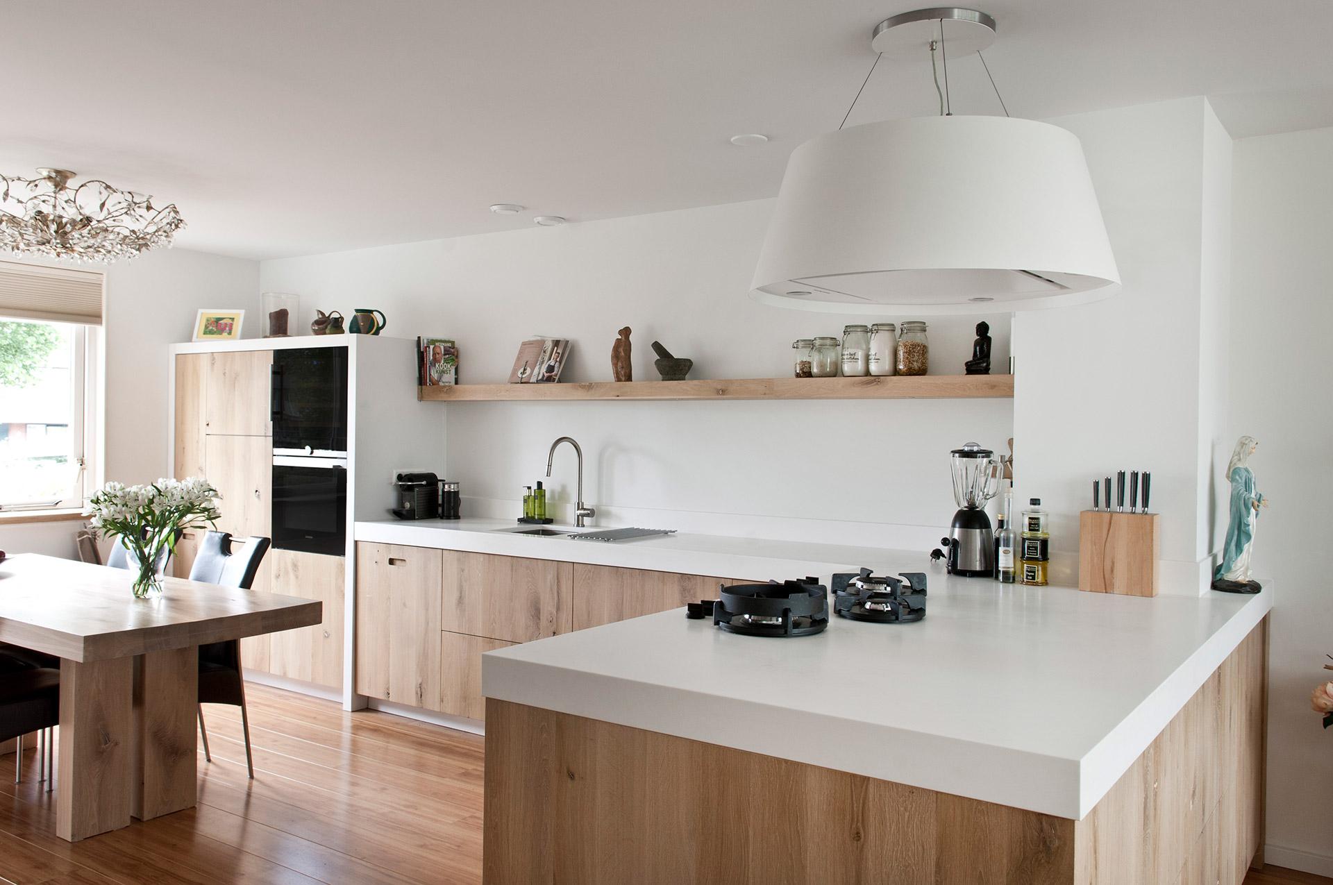 Strakke,mooie,moderne keuken