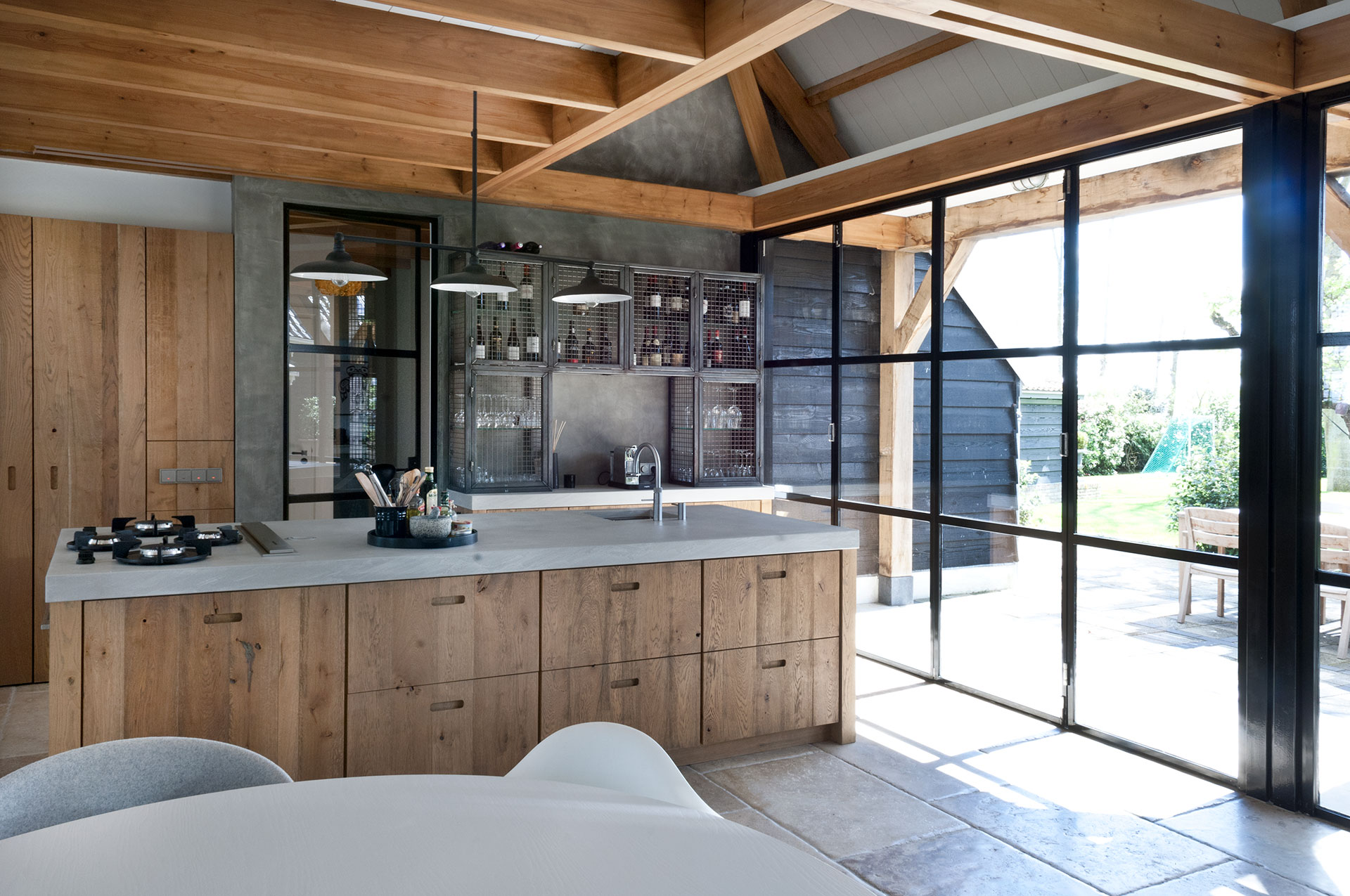 Keuken in vakantiehuis