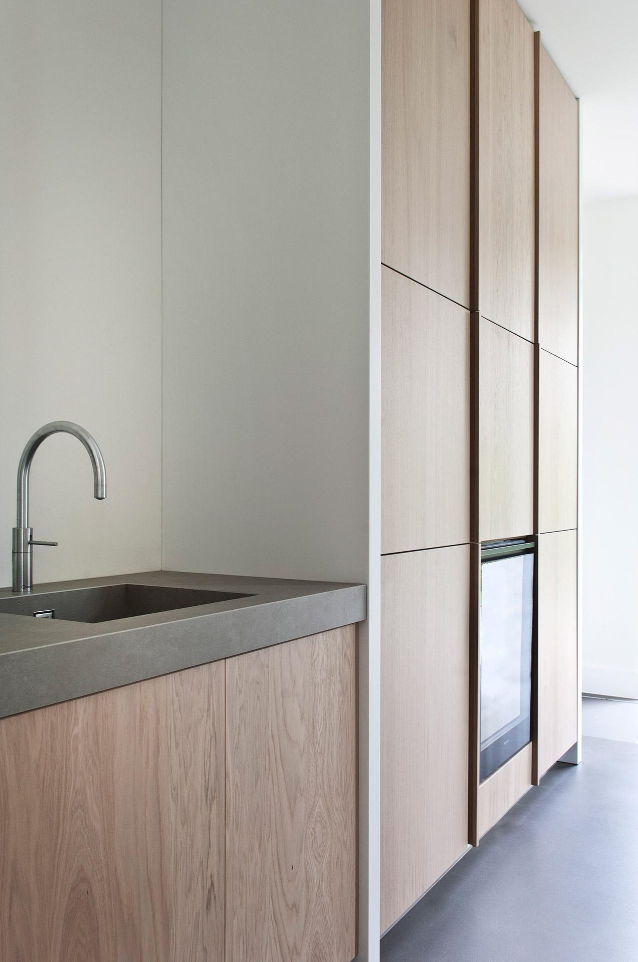 Strakke design keuken